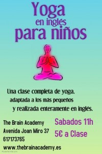 yoga en Inglés The Brain Academy Palma
