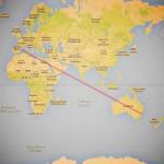 ruta mallorca-Sidney